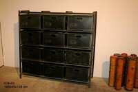 Industrial 12 drawer chest ICB-03 - Click photo for more details