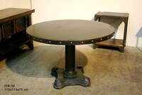 Iron round table ITB-30 - Click photo for more details