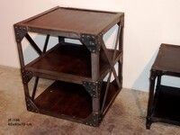 industrial side table IF-196 - Click photo for more details