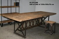 Industrial diningtable - Click photo for more details