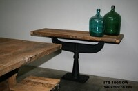 Industrial side table ITB-1004 - Click photo for more details
